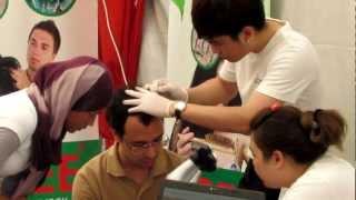 Hair mites show at KPJ