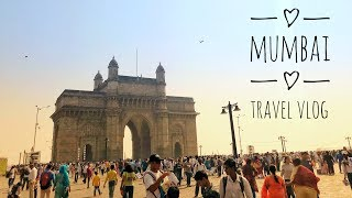 ONE DAY IN MUMBAI - Travel Vlog | Gateway Of India | Marine Drive | Theobroma | Leopold Cafe | Beer!