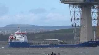 Nordic Sola Oil Tanker Ship Firth Of Forth Scotland