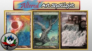 Altered Art: Full Art Lands Special Edition + Best Game of Thrones Alter Ever – MTG!
