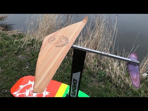 D.I.Y. Hydrofoil Wing & Foil Dock Start