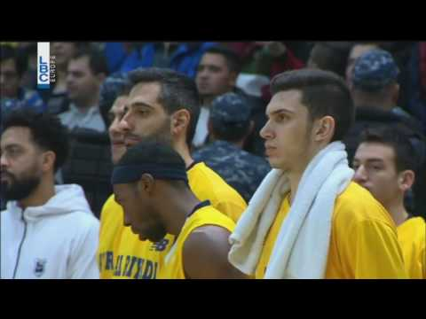 Lebanese Basketball League 2016-2017 - Riyadi v Homenetmen