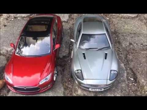 Tesla vs petrol car - Efficiency  Test