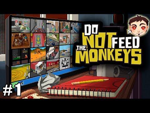 ¡UN SIMULADOR DE ESPÍA DE HUMANOS! - Do Not Feed the Monkeys #1