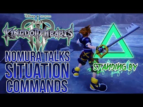 Kingdom Hearts 3 - Nomura Talks About The Situation Command System