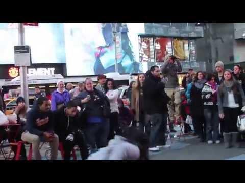 NYC Flash Mob Wedding Proposal (Times Square)