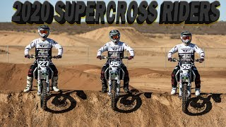 OUR OFFICIAL 2020 SUPERCROSS RIDERS | JMC Racing