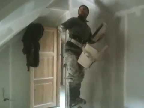 jointeur bandeur jointoyeur drywall comment poser bande placo joint placo avec une canadienne 2. Black Bedroom Furniture Sets. Home Design Ideas