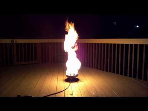 """Little Red Campfire"" Propane Camp Fire; Portable Fire ..."