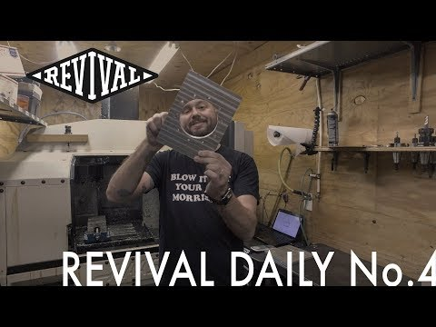 Inside Our Machining Container // Revival Daily No. 4
