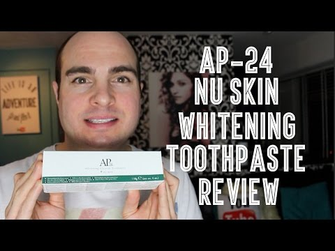 AP24 NU Skin Whitening Toothpaste Review