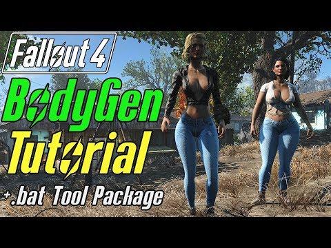Working BodyGen Guide! & Bat Gen Tool #Fallout4