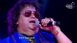 "Bappi Lahiri singing ""Yaad Aa Raha Hai"" @ 54th Bengaluru Ganesh Utsava"