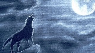 Cómo dibujar un lobo aullando  de noche - Arte Divierte.