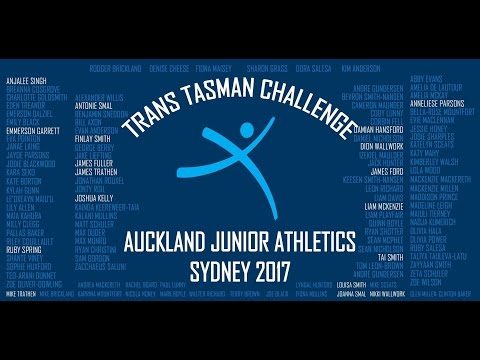 Athletics Trans Tasman Challenge Sydney 2017 (for 10 - 11 Year olds)