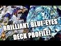 *yugioh* Best! Brilliaint Blue-eyes Deck Profile! New August 29th 2016 Banlist! Ft.simplyslimygo! video