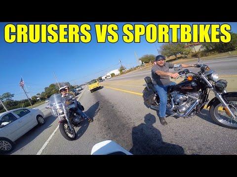 Cruisers VS Sport Bikes