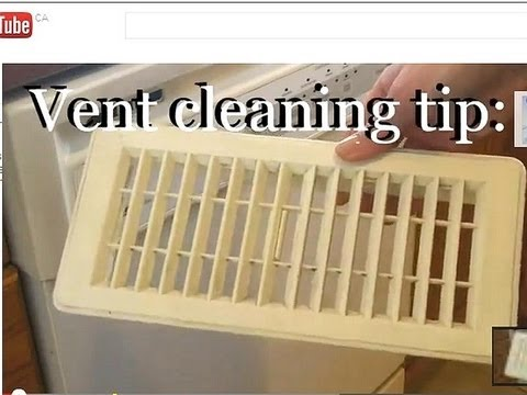 Cleaning Tip How To Clean Air Vents Easily Youtube