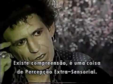 Bruna Lombardi entrevista Keith Richards em 1993