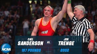 Cael Sanderson vs. Jon Trenge: 2002 NCAA title match (197 lb.)