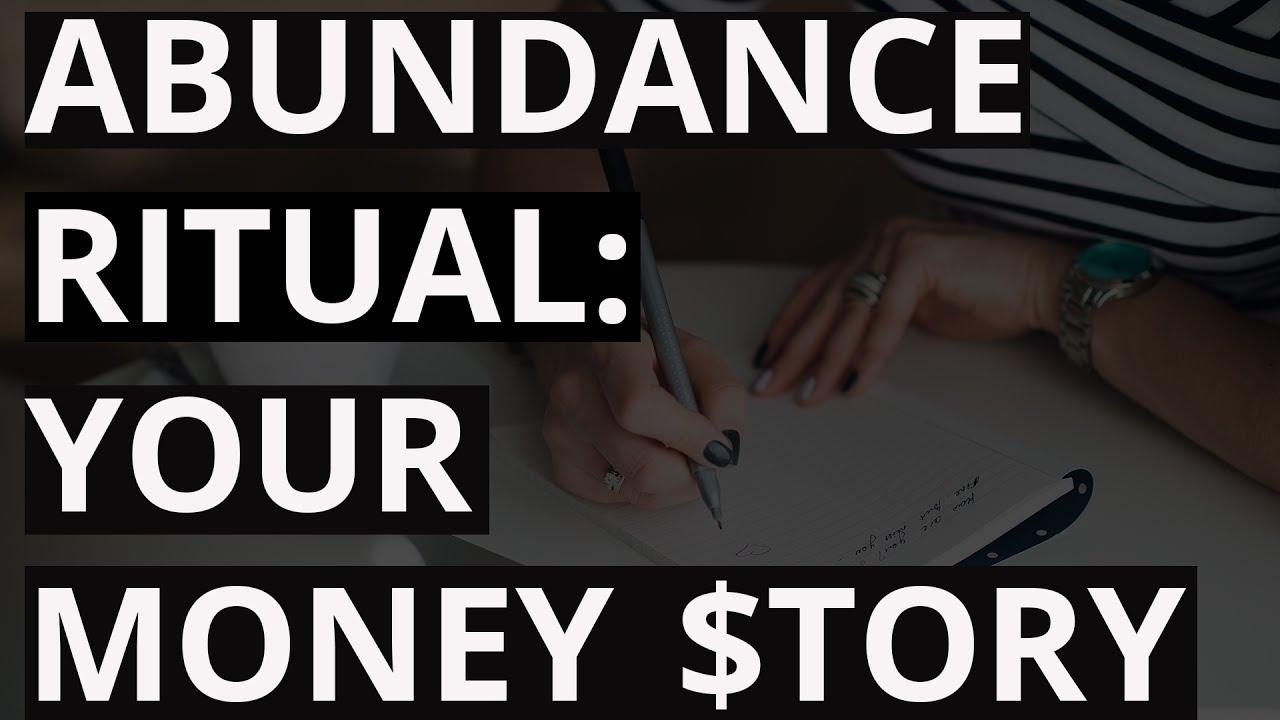 Abundance Ritual: Write a Money Autobiography [Unblock My Money, Day 1]