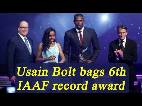 Usain Bolt bags IAAF athlete of the year for record 6th time   Oneindia News