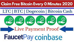 Claim Free Bitcoin Every 0 Minutes 2020 | Bitcoin Faucet Payment Proof | AT Adil Tricks