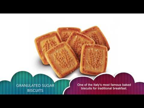 Granulated sugar Biscuits - Italian