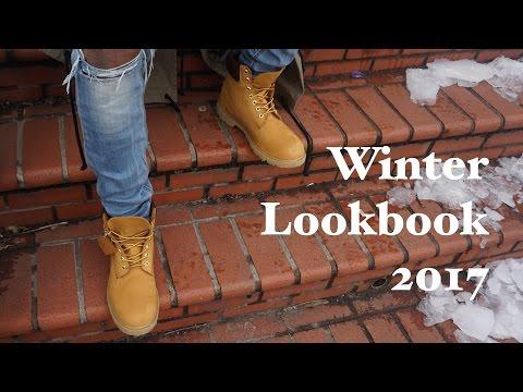 Men's Winter Lookbook 2017 (feat.Timberland Boots)