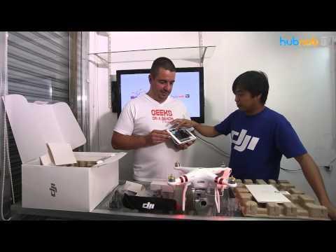 Hubnob.TV - Unboxing DJI Phantom 3 Standard