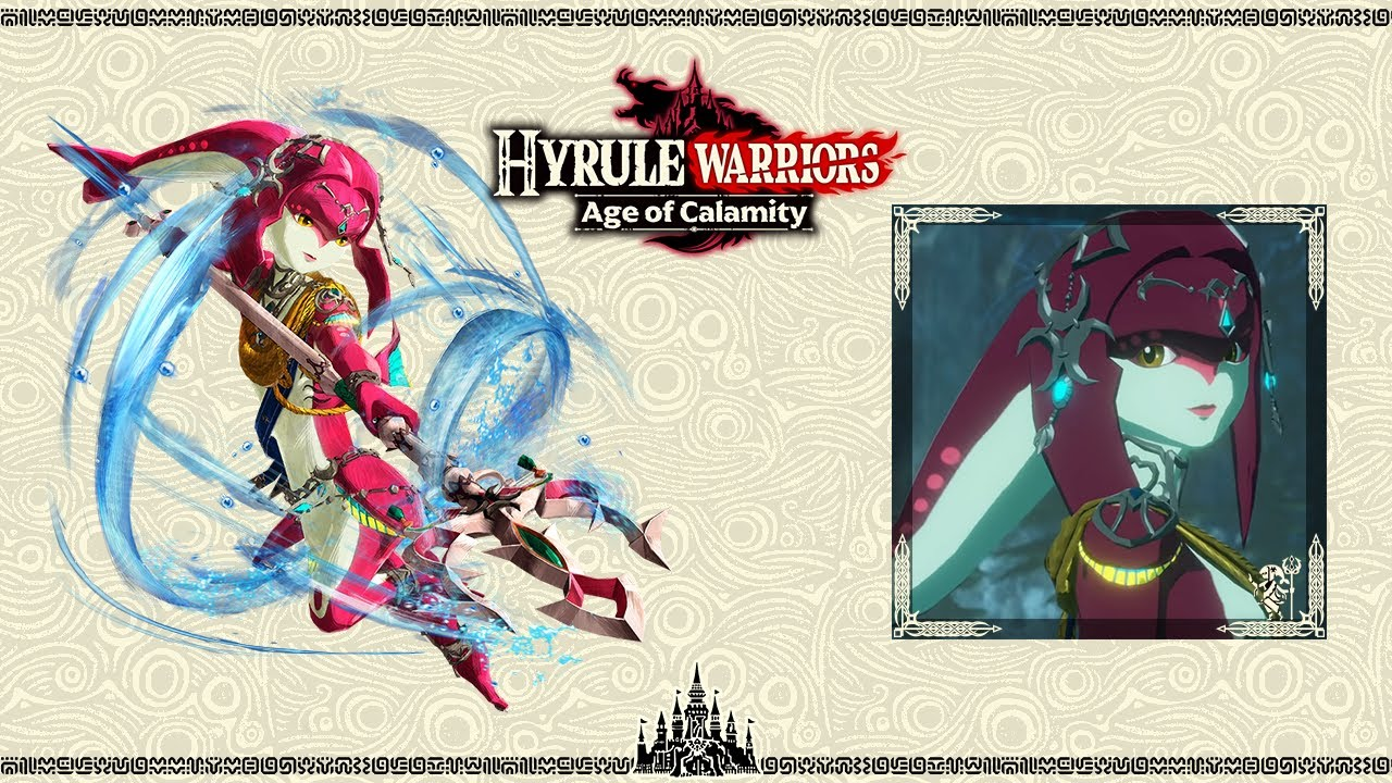 The Champion Mipha Hyrule Warriors Age Of Calamity Ost Youtube