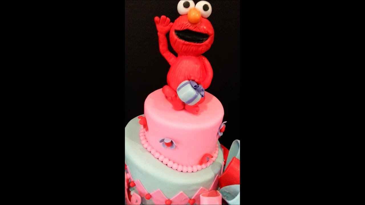Elmo And Abby Cadabby Birthday Cake Youtube