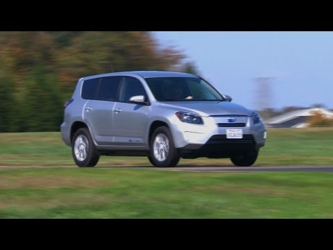 2013 Toyota RAV4 EV first drive | Consumer Reports