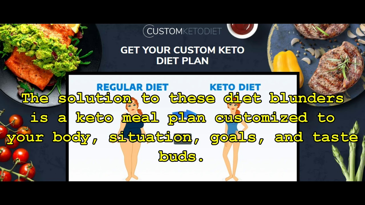 Black Friday  Plan Custom Keto Diet Deal April