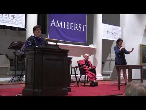 Amherst College Convocation - September 4th, 2017