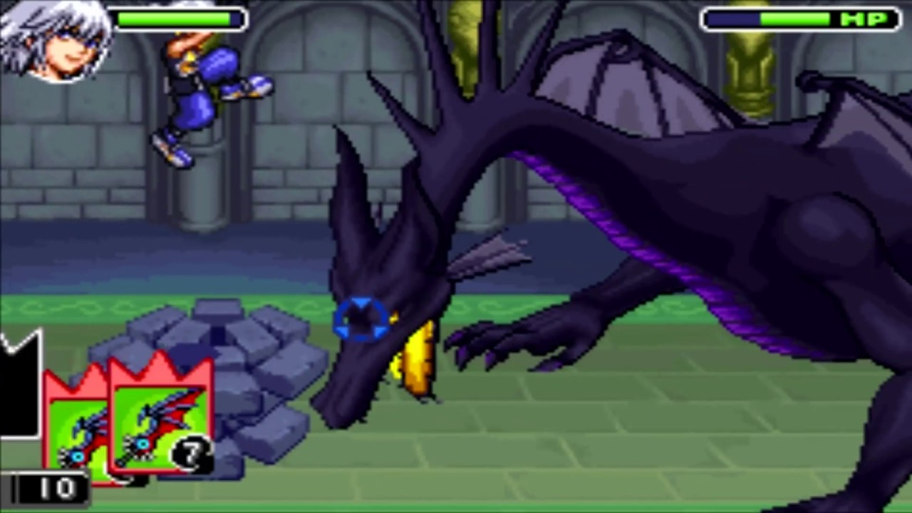 KINGDOM HEARTS Final Mix boss Dragon Maleficent - YouTube