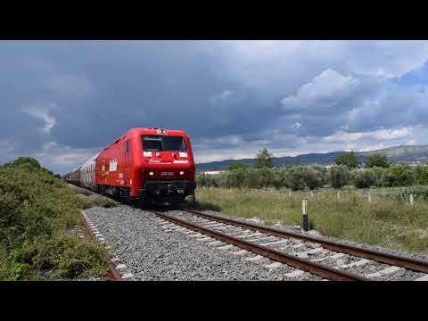 Goldair Rail Cargo Logistics In Greece - First Day Trial