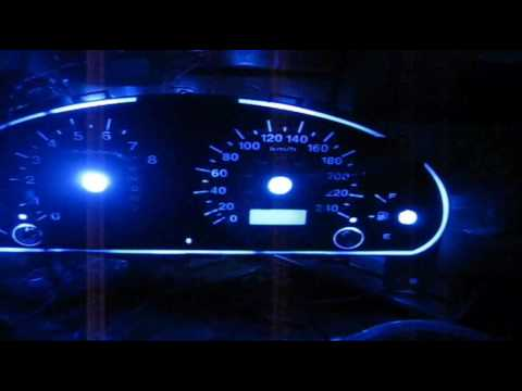 Custom LED Transformers Instrument Panel For 2003 Honda Civic With LEDs