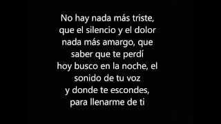 Hoy Tengo Ganas De Ti ft  Christina Aguilera letra