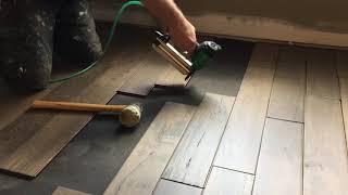 How to nail down engineered flooring over an OSB subfloor DIY NC Floor Guys