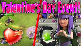 WALKING FOR LOVE - Queen Walk Attack Strategies - Valentine's Day Hero Event - Clash Of Clans
