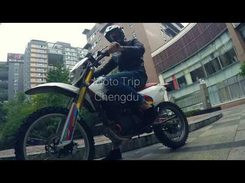 Moto trip Chengdu