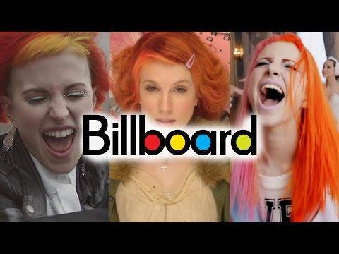 Paramore - Billboard Chart History