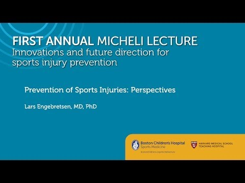 Prevention of Sports Injuries: Perspectives Lars Engebretsen, MD PhD Sports Medicine Division