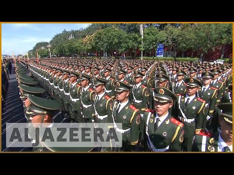 Chinese military veterans protest in Beijing