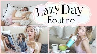 Lazy Day Routine ♡