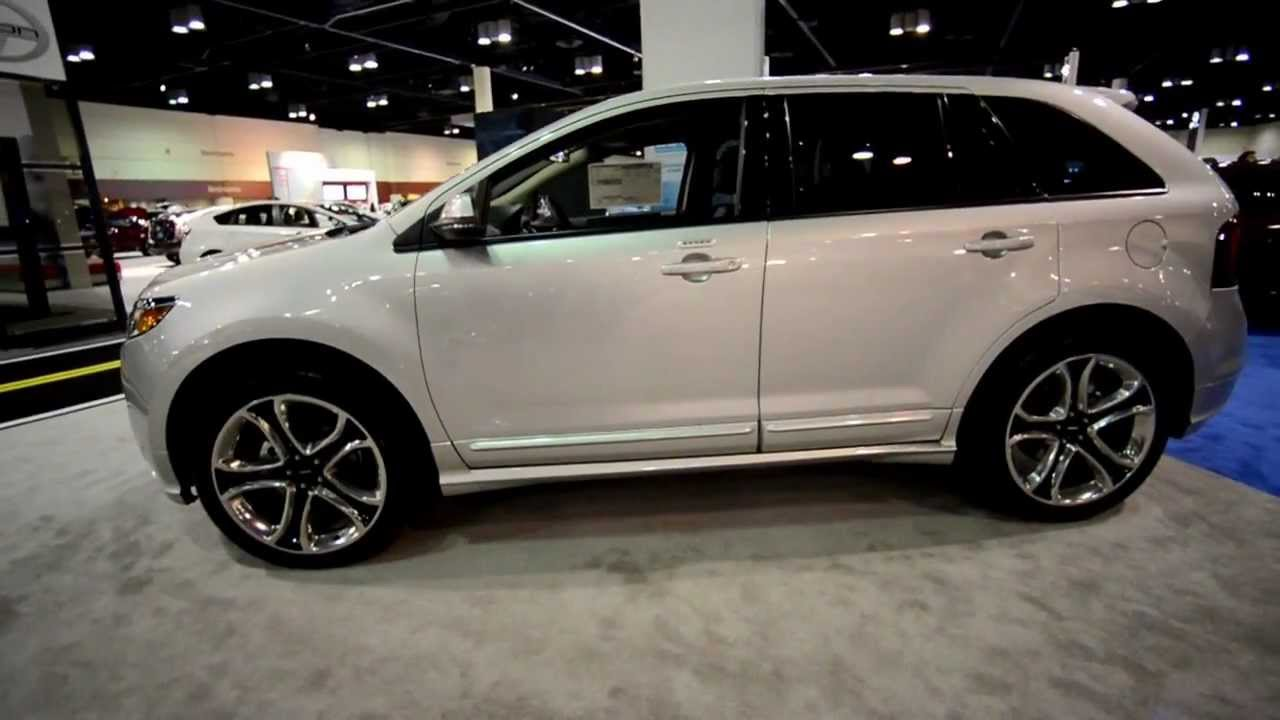 2013 ford edge sport exterior walkaround hd youtube. Black Bedroom Furniture Sets. Home Design Ideas