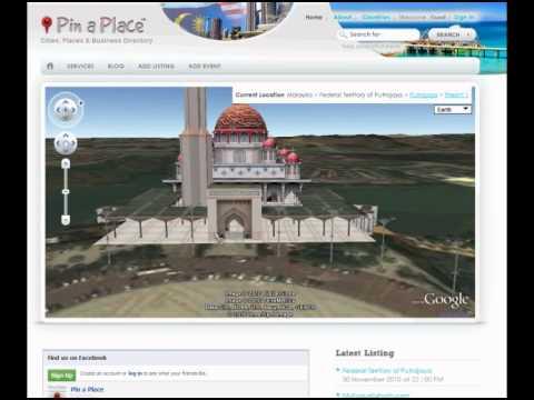 Google Earth visit Kuala Lumpur