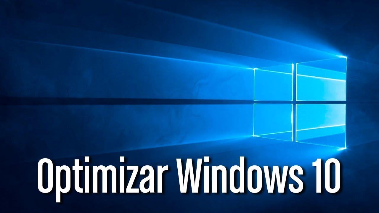 optimización windows 10