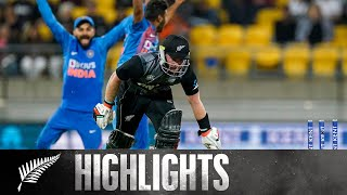 India Win Another Super Over Thriller | FULL HIGHLIGHTS | BLACKCAPS v India - 4th T20, 2020